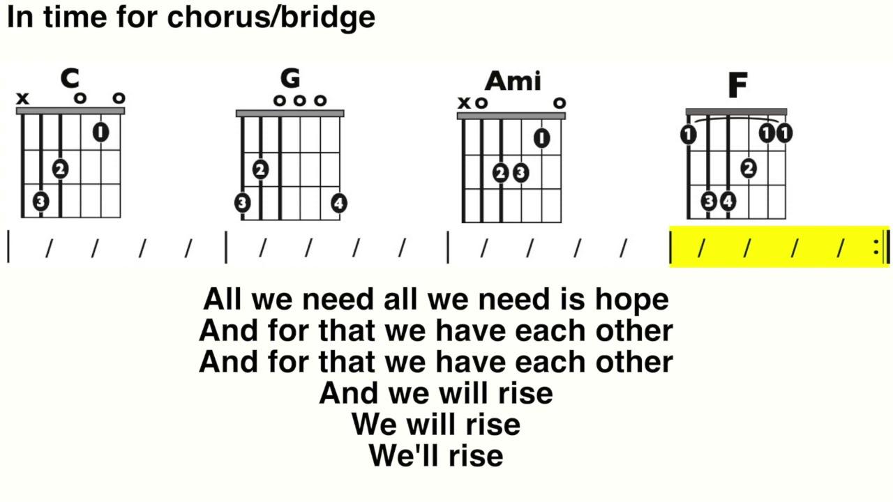 Rise Up (Andra Day) Guitar and Lyrics play-along