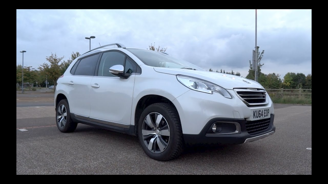 2014 peugeot 2008 1 6 e hdi 92 s s allure start up and full vehicle tour youtube. Black Bedroom Furniture Sets. Home Design Ideas