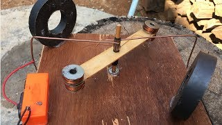 How to Make DC Motor At Home (Science Project) , New Idea to Create Electric 2018