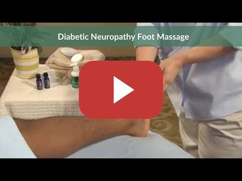 Diabetic Neuropathy Foot Massage