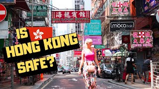 Foreigners Exploring Must See Sites of Hong Kong, DURING the RIOTS!?! Is It Still SAFE for Tourists?