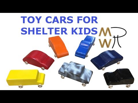 57 - Toy Cars for Shelter Challenge - Manhattan Wood Project