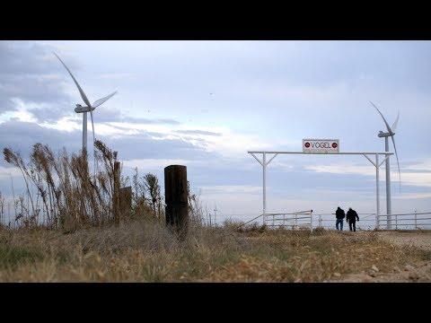 The Vogel Family Wind Farm in Lubbock, Texas