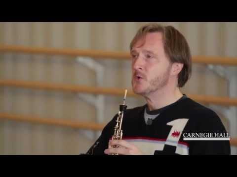 Carnegie Hall Oboe Master Class: Tchaikovsky
