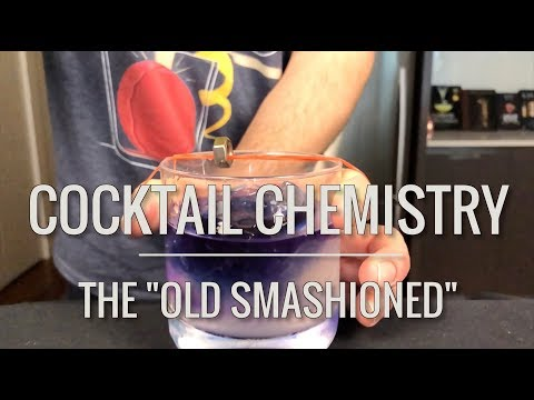 The Old Smashioned (and the first Cocktail Chemistry t-shirt!)