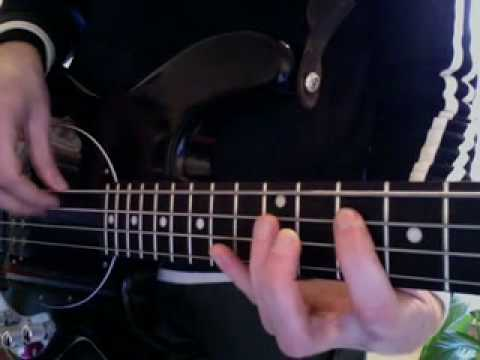 Bass Lesson:  Wild cherry: Play that funky music