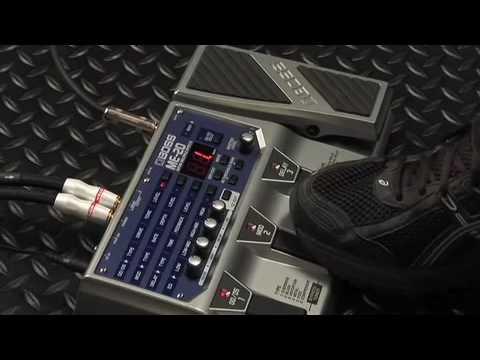 BOSS ME-20 Multi effects processor-Demo by Johnny DeMarco