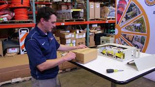 Watch Commscope FPX Fiber Distribution Panel Unboxing