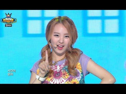 NC.A - I'm different, 앤씨아 - 난 좀 달라, Show Champion 20140611