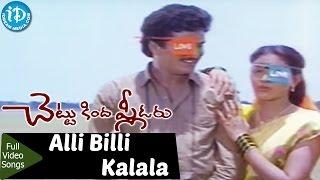 Chettu Kinda Pleader Movie - Alli Billi Kalala Video Song    Rajendra Prasad    Urvashi