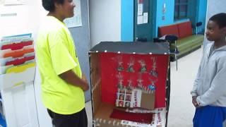 Creation Crew Summer 2014: Cardboard Vending Machines