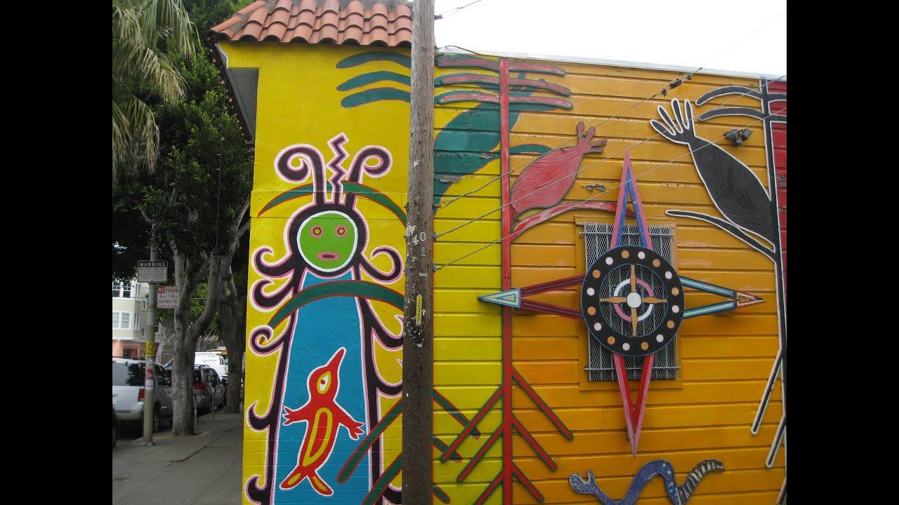 Latino/Chicano Art Inspired Murals in The Mission District of San ...