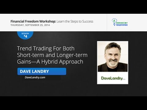 Trend Trading For Both Short-term and Longer-term Gains—A Hybrid Approach   Dave Landry