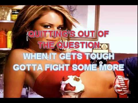Cheryl Cole - Fight For This Love - Karaoke