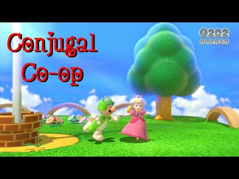 Conjugal Co-op Super Mario 3D World