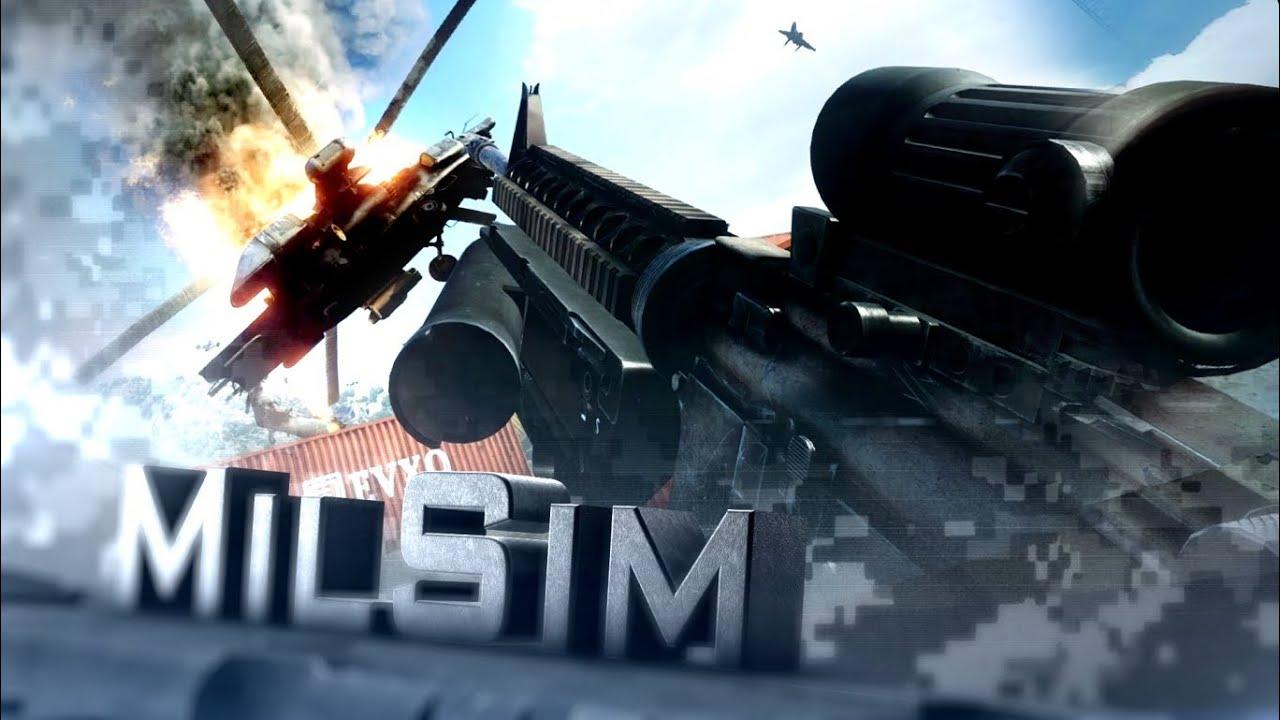 BF3 MilSim: M16A4 Marine Corps Grenadier - No HUD Realism ... M16a4 Bf3