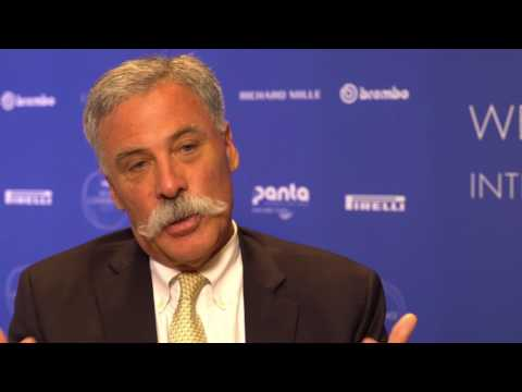 Chase Carey interview at the FIA Sport Conference