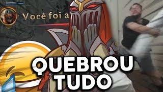 GORDOX SE EMOCIONA e QUEBRA TUDO!! - MD10 flex #6