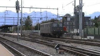 "SBB Ae 6/6 ""11507 Wildegg"" in Thun"