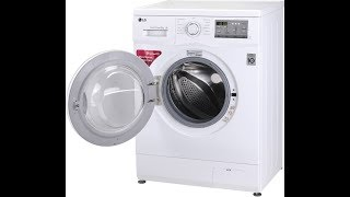 LG FH0FANDNL02 - 6 kg Fully Automatic Front Load Washing Machine White
