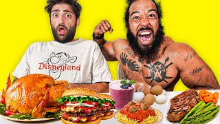 Trying The World's Strongest Man's Diet *10,000+ Calories*