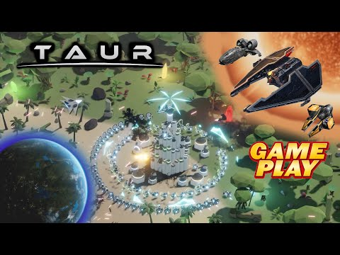 Taur ★ Gameplay ★ PC Steam Tower Defense Game 2020 ★ Ultra HD 1080p60FPS