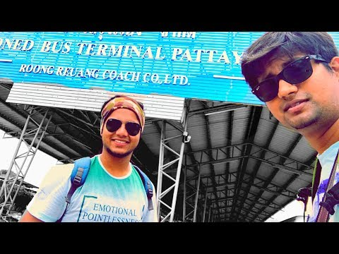 No RESPECT for INDIANS !!! Pattaya To Bangkok | Vlog | Chinigiri