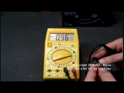 Electronics 101-How To Use A Multimeter Voltmeter Ammeter Ohmmeter Continuity Tester