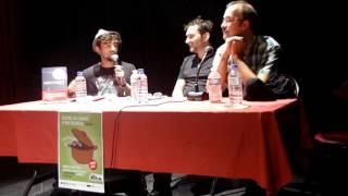 """Voilà une conférence autour de """"La traduction de Bande Dessinée"""" avec Thomas Dupuis (auteur BD, créateur et éditeur des Éditions FLBLB) et Rodolphe ..."""