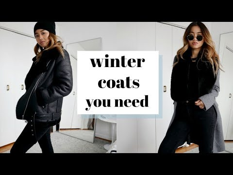 3 WINTER COATS YOU NEED  how to style them  rachspeed
