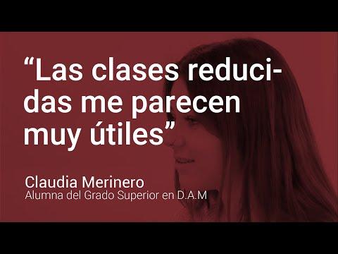 Opinión Alumna FP Administración Y Finanzas: Claudia Merinero