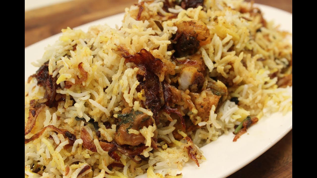 Seafood biryani indian recipe sanjeev kapoor khazana youtube seafood biryani indian recipe sanjeev kapoor khazana forumfinder Image collections