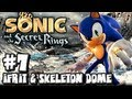 Sonic and the Secret Rings Wii - (1080p) Part 7 - Ifrit Boss & Skeleton Dome