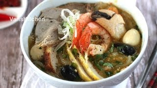bánh canh cua vietnamese crab thick noodle soup