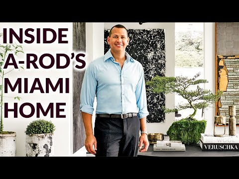 Inside Alex Rodriguez's Sleek Miami Home Inspired by His Daughters  Architectural Digest