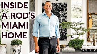 Inside Alex Rodriguez's Sleek Miami Home Inspired by His Daughters | Architectural Digest