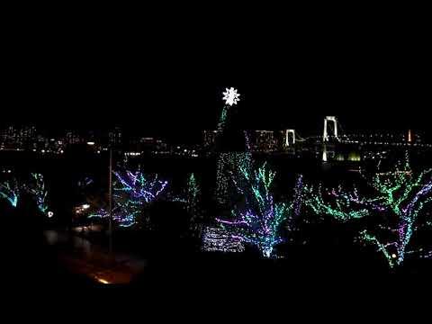 Light  on Odaiba Island