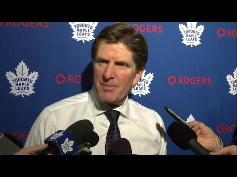 Maple Leafs Post-Game: Mike Babcock - December 31, 2017