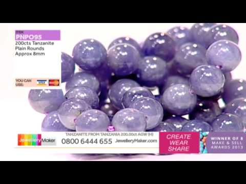 How To Make Boutique Style Jewellery - JewelleryMaker LIVE (am) 13/12/2014