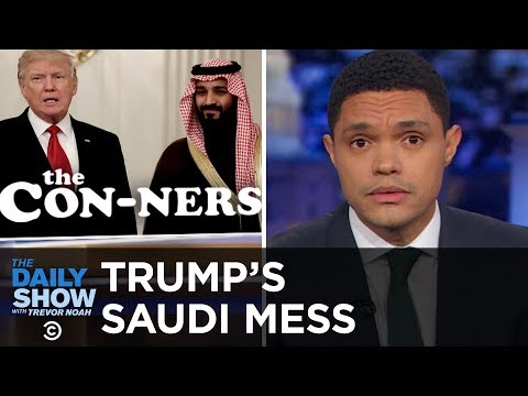 Trump Defends Saudi Arabia Against Murder Allegations to Secure Arms Deal | The Daily Show
