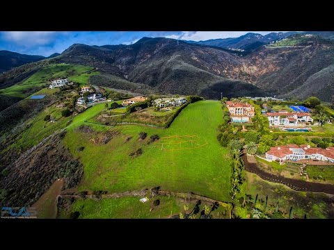 Real Estate Aerial Marketing Video Ocean View Land Parcel - Malibu, CA - Drone Services