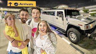عائلتي رجعت ❤️ انس واصالة في دبي (فاجأتهم)