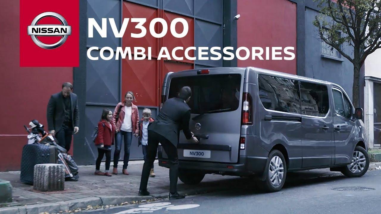 the new nissan nv300 combi youtube. Black Bedroom Furniture Sets. Home Design Ideas