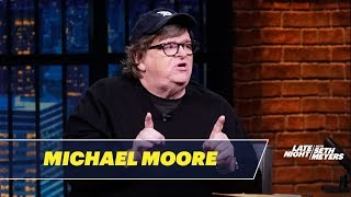 Michael Moore Urges Angry White American Men to Give Up