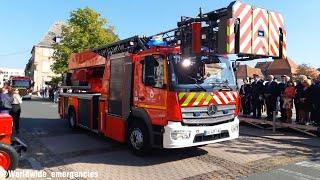 [2018]Défilé des camions des Sapeurs Pompiers pour le 63ème Congrès Départementale de l'UDSP 57