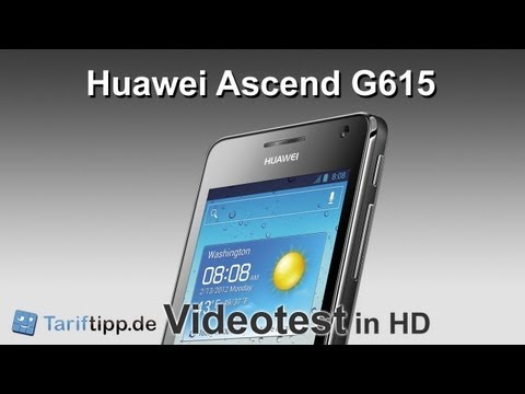Huawei Ascend G615 | Test in HD (deutsch)