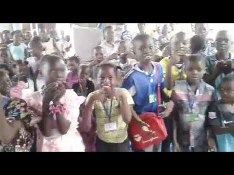 Children in Congo wish you a Merry Christmas