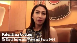 Atherva: Interview with Falentina Cotton (Ms Earth Indonesia Water and Peace 2014)