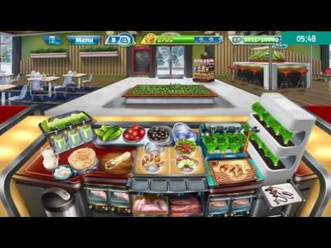 Cooking Fever Level 40 Salad Bar