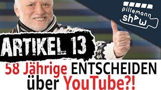 ARTIKEL 13 - RENTNER ENTSCHEIDEN ÜBER YOUTUBE! | TANZVERBOT MCDONALS DEAL? | Die PillemannShow
